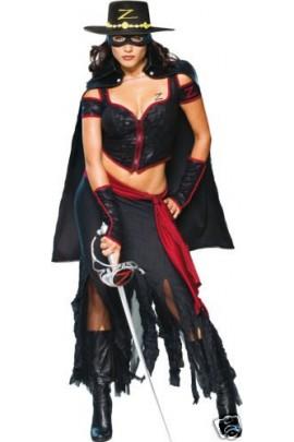 Déguisement femme Zorro