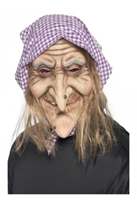 Masque Vieille sorcière - Halloween