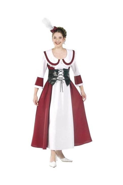 Déguisement Louise Bordeaux - médiévale