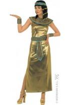 Déguisement Égyptienne Cléopâtre dorée