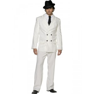 Déguisement Années 20 - Al Capone blanc