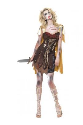 Déguisement Gladiateur sexy zombie