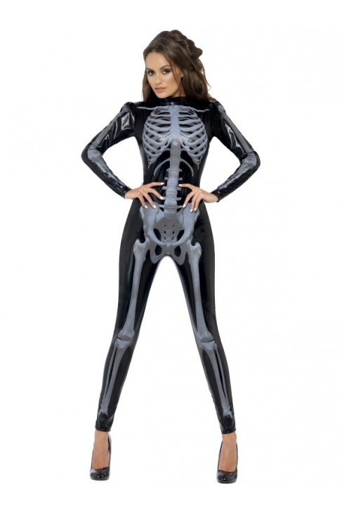 Déguisement Combinaison Squelette