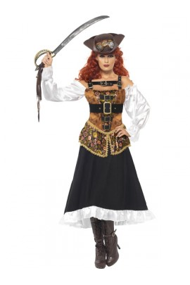 Costume femme Pirate steam punk