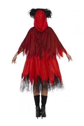 Déguisement Chaperon rouge gothique