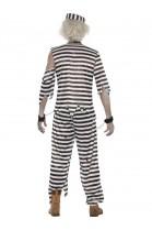 Déguisement Bagnard prisonnier zombie