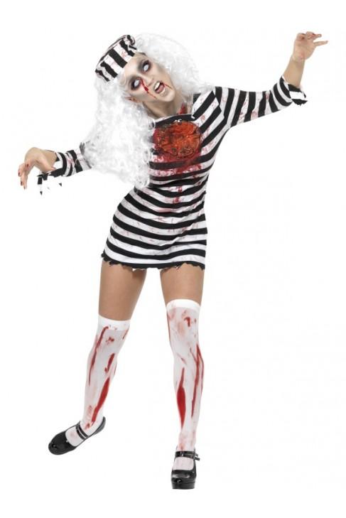 Déguisement prisonnière zombie