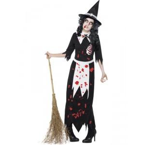 Déguisement Sorcière de Salem zombie