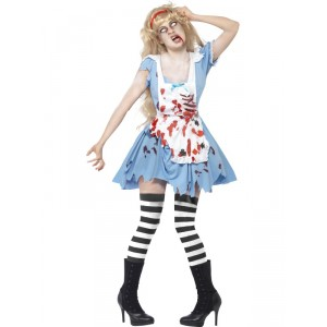 Déguisement Alice zombie