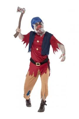 Déguisement Nain zombie