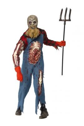 Déguisement Paysan zombie -  Halloween