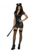 Déguisement femme Policier sexy noir