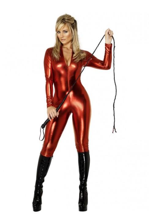 Combinaison sexy couleur rouge