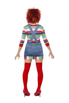 Déguisement de poupée Chucky femme