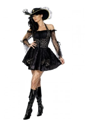 Déguisement Femme Pirate sexy noire