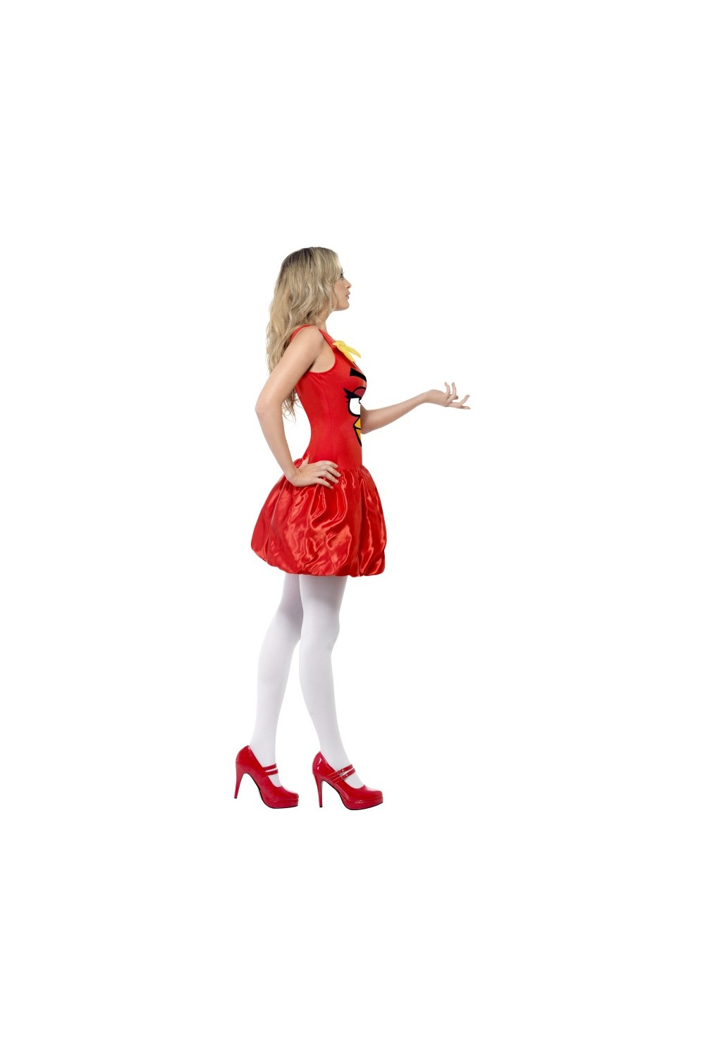 D guisement femme angry birds rouge - Angry birds rouge ...
