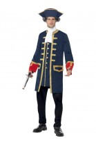 Déguisement commandant Pirate - Déguisement Lafayette
