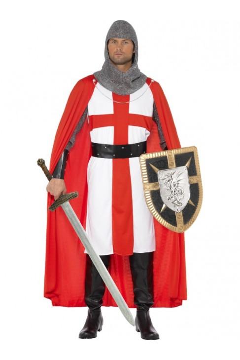 Déguisement Chevalier médiéval St Georges