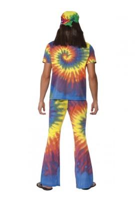 Déguisement Hippie arc en ciel homme