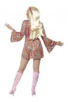 Déguisement blouse robe hippie