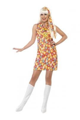 Déguisement robe hippie