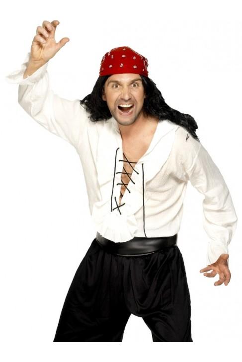 Déguisement chemise Pirate homme