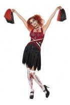 Déguisement de pom pom girl zombie