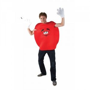 Déguisement Bonbon rond et rouge