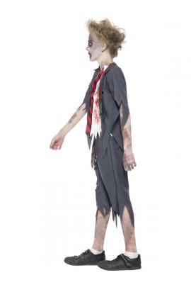 Déguisement Ecolier enfant zombie
