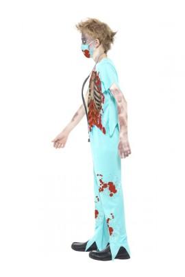 Déguisement Chirurgien zombie enfant