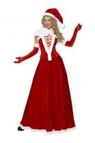 Déguisement Mère Noël jupe longue
