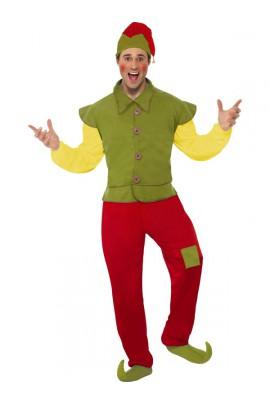 Déguisement d'elfe homme