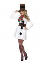 Déguisement femme Bonhomme de neige