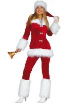 Déguisement Miss Santa pantalon