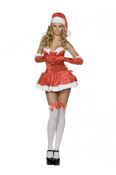 Déguisement Miss Père Noël coquine