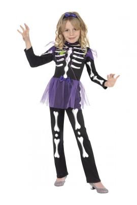 Deguisement de squelette chic
