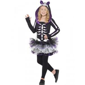 Deguisement de squelette chat noir