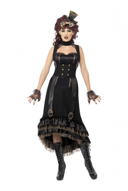 Costume femme vampire steam punk - Costume vampire femme ...