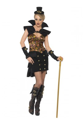 Costume femme vampire sexy steam punk