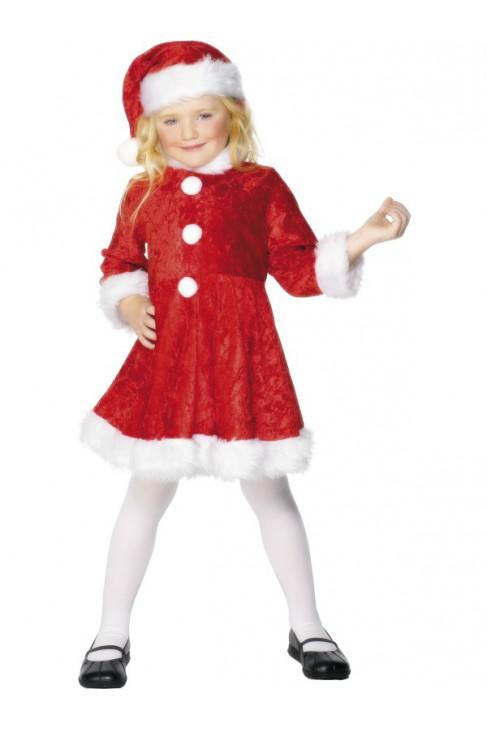 Déguisement Robe rouge Miss Noël