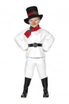 Déguisement Bonhomme de neige garçon