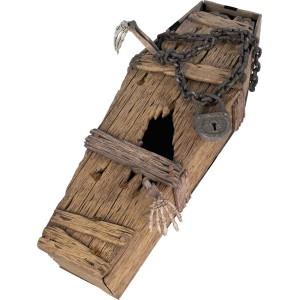 Cercueil polystyrene avec chaine