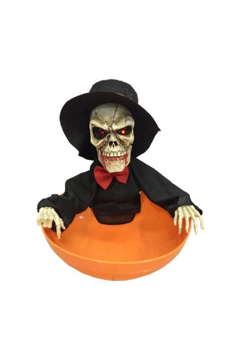 Décoration Squelette à bonbons