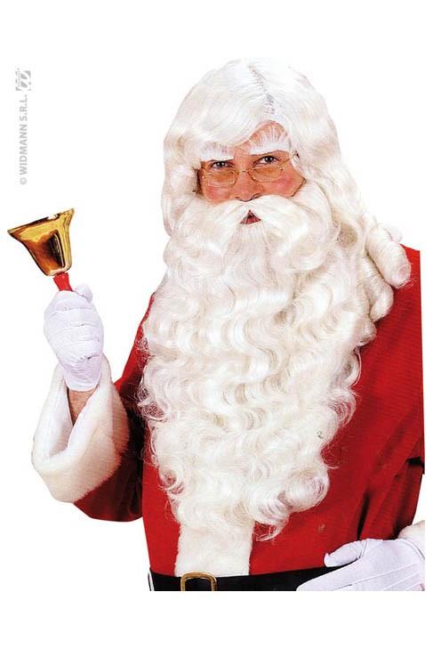 Superbe Perruque Père Noël avec barbe