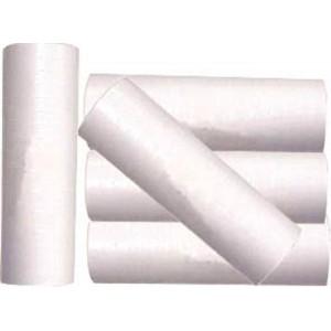 Carton de 100 x 18 serpentins blancs fluo