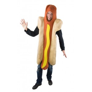 Déguisement Hot-Dog adulte