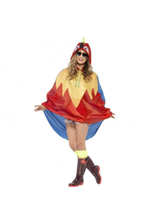 Poncho party perroquet IMPERMEABLE