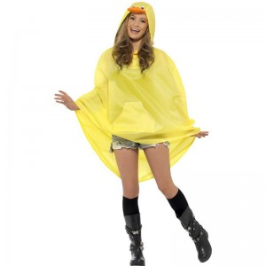 Poncho party canard IMPERMEABLE