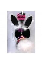 Set Bunny Noir & Blanc