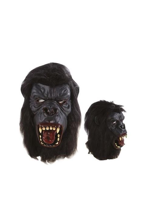 Masque adulte latex intégral gorille